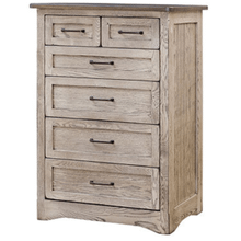 See Details - Farmstead 6 Drawer Chest (Available in a Variety of Colors and Wood Stains)