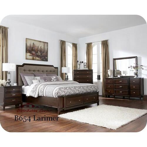 Ashley Furniture - Ashley B654 Larimer Millennium Bedroom set Houston Texas USA Aztec Furniture