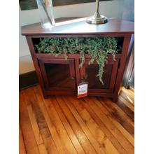 CLEARANCE Corner TV Stand