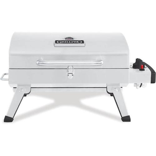 201114 In By Grillpro In Kitchener On Table Top Portable Propane Bbq In Stainless Steel