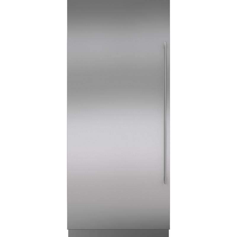 "36"" Designer Column Freezer with Ice Maker - Panel Ready"