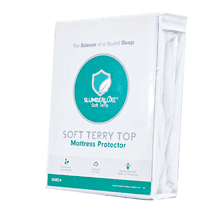 SlumberLuxe®Terry  Soft Mattress Protector
