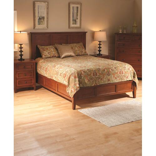 GAC McKenzie Queen Bed Cherry Finish