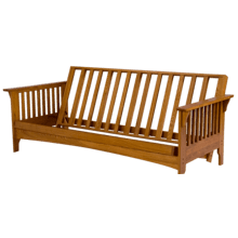 Boston - Solid Oak Futon Frame