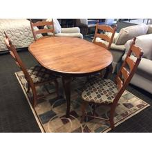 See Details - Canadel Custom Dining Collection 42x42 Dining set