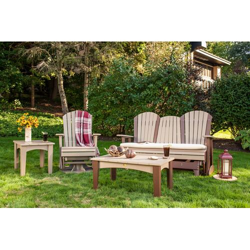 Adirondack Glider 5' Cherry and Black