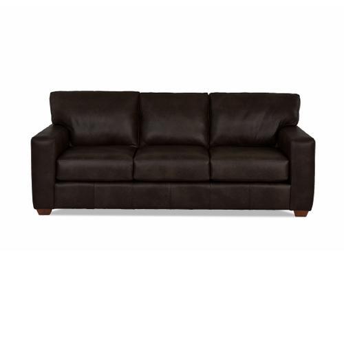 Sydney Java All Leather Sofa