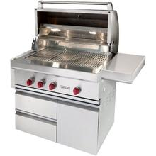 "36"" Outdoor Gas Grill With Cart"