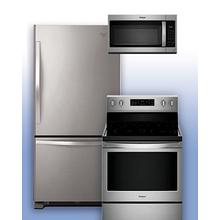 See Details - WHIRLPOOL - Save on this Bottom Freezer Refrigerator & Electric Range 3 pc package.