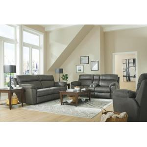 Catnapper - Reclining Loveseat with Console #1009
