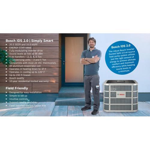 IDS 2.0 Inverter Ultra Hi-Efficiency Heat Pump - 2-3 Ton