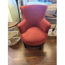 Justine Swivel Chair - Scarlet