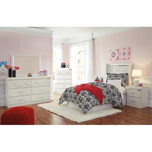 Dreamur - Champagne 4 Piece Kids Bedroom Set