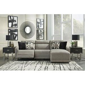 Ashley Furniture - CLEARANCE Colleyville Power 3pc Sectional