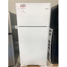 Frigidaire 18 Cu. Ft. Top Freezer Refrigerator in White **OPEN BOX ITEM** West Des Moines Location