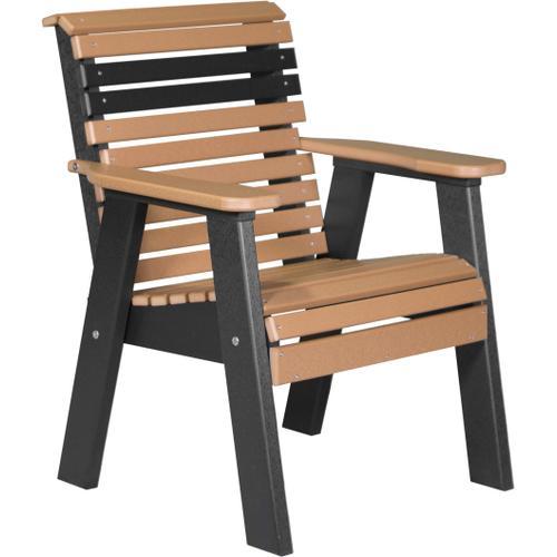 Plain Bench 2' Cedar and Black