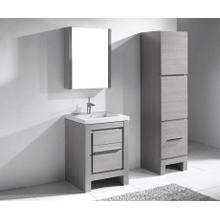 """Product Image - VICENZA 23-5/8"""" VANITY ONLY - ASH GREY"""