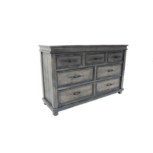 L.M.T. Rustic and Western Imports - Dresser Rustic Gray