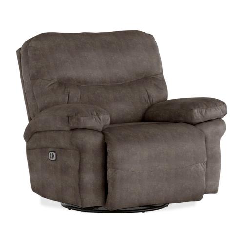 Best Home Furnishings - LEYA  Rocker Chaise Recliner in Elk       (6M77-19869C,40166)
