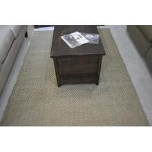 Ashley Furniture woven area rug.