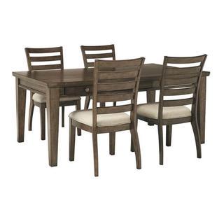 Flynnter 5 Piece Dining Room Set
