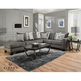 Tremont Pewter 3 PC Sectional Sofa