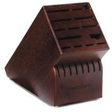 Wusthof 22-Slot Knife Walnut Block