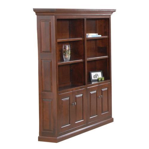 Newport Double Bookcase