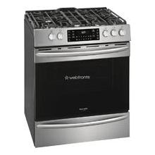 See Details - Frigidaire Gallery 30'' Front Control Gas Range with Air Fry