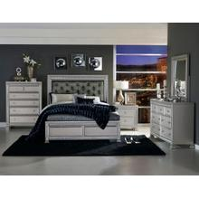 Bevelle Qn Bed, Dresser, Mirror and Nightstand