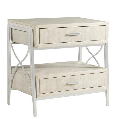 Lilly King Bedroom Set with Open Night Stand