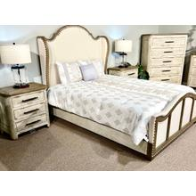 See Details - CLOSEOUT Queen Bed, Dresser, Chest and 2 Nightstands