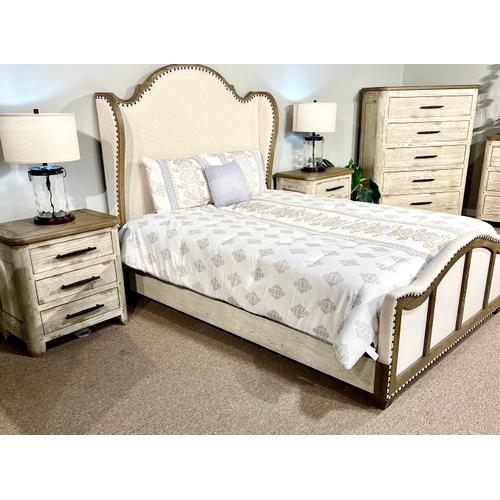 Kincade - CLOSEOUT Queen Bed, Dresser, Chest and 2 Nightstands