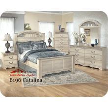 Ashley B196 Catalina Bedroom set Houston Texas USA Aztec Furniture