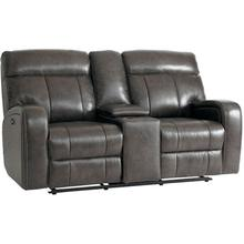 See Details - Beaumont Motion Loveseat w/ Power & Console in Truffle