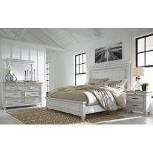 Kanwyn 4 Pc. California King Bedroom Set Whitewash