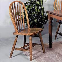 """See Details - Dark Oak Arrow Windsor Chair 38""""h"""