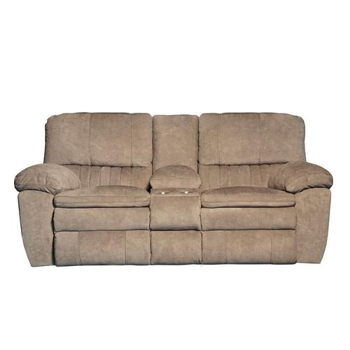 Catnapper - CATNAPPER 62409-2792-26PRL Power Lay Flat Recl Console Loveseat w/Storage & Cupholders
