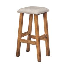 "30"" Farmstead Leather Bar Stool"