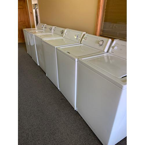 Product Image - REFURBISHED TOP LOAD WASHERS (manufacturer and models change daily, please call or visit our store to confirm what is currently available). Prices vary based on condition, age, model, and features.