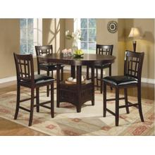 Lavon Counter Table with 4 Chairs