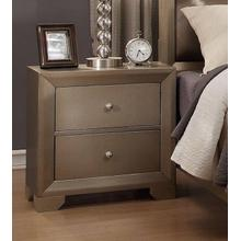 CrownMark Nightstand, Fontaine B1700