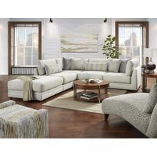 Drusky Silver-2 piece Sectional Chaise