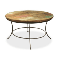 Bombay Iron Base Cocktail Table - Round