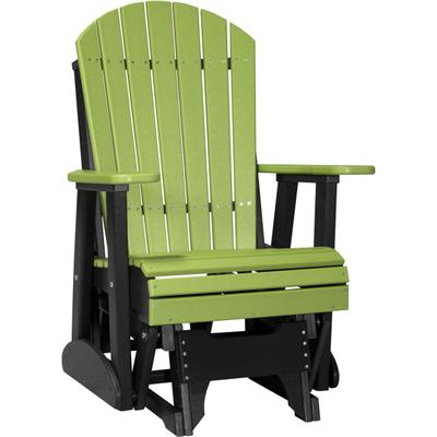 Adirondack Glider 2' Lime Green and Black