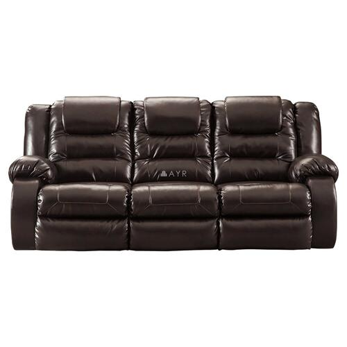 Ashley Furniture - Vacherie - Chocolate Living Room Set