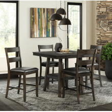 Laredo Counter Dining Set      (DLD-5005-CS,75204)