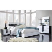 Dresser Zebra Grey & White HG