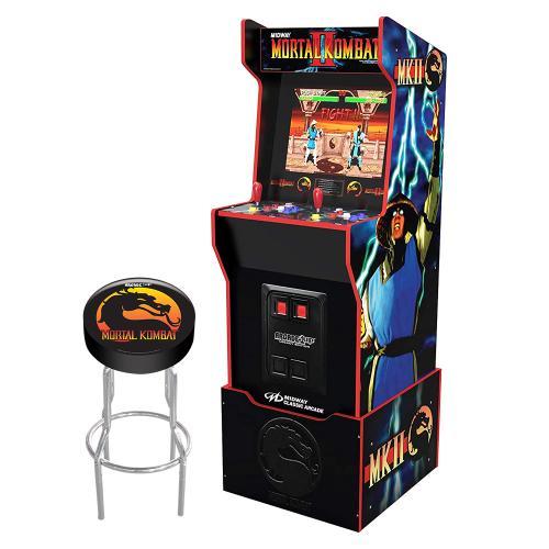 Midway Legacy Edition Arcade Machine - Mortal Kombat II - with Stool