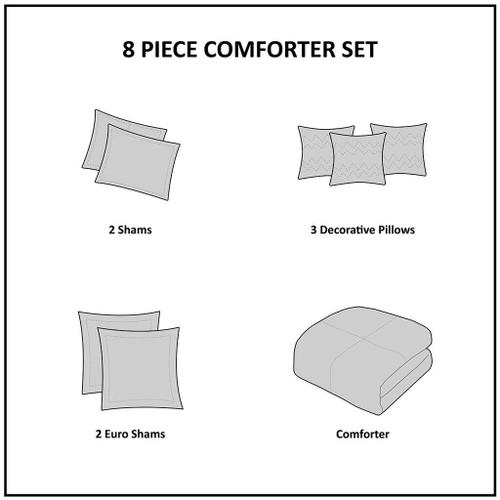Clarity Queen Comforter Set